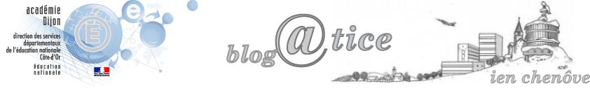 Blog@Tice IEN Chenôve